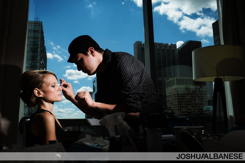Chicago Modern Wedding Photography at theWit Hotel by Joshua Albanese