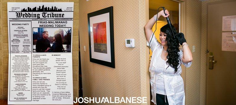 Rainbow Chicago Filipino Wedding Photography at Carnivale by Joshua Albanese